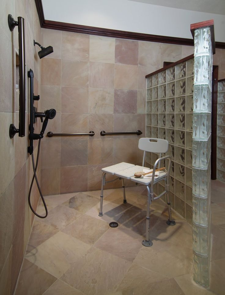 211 Best Images About Glass Block Showers On Pinterest