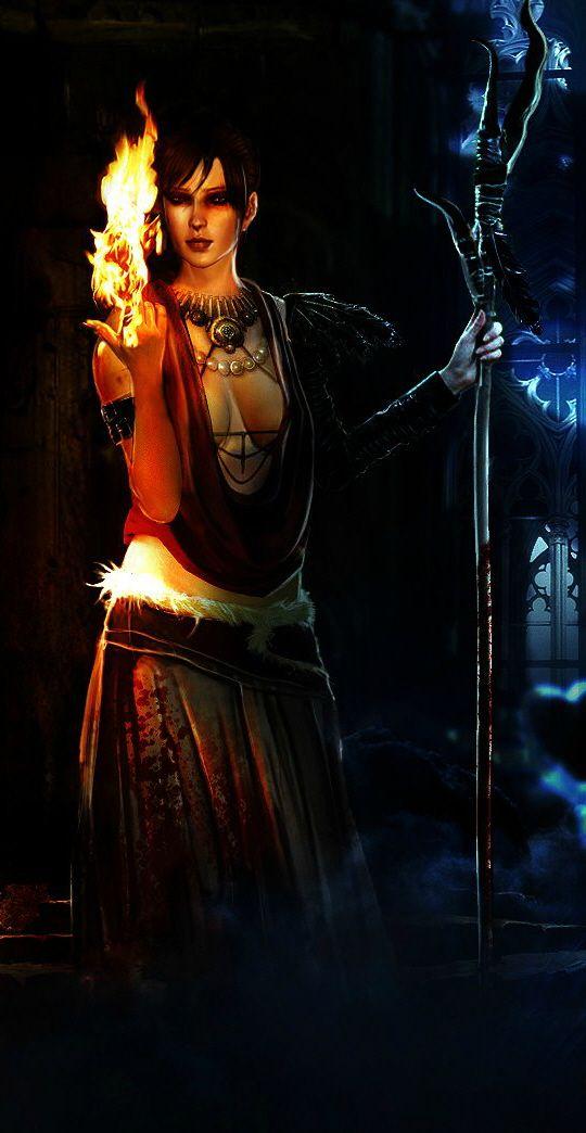 Morrigan, Dragon Age: Origins