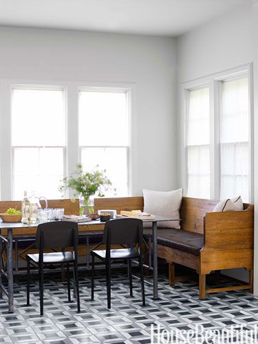 """Kitchen Banquette-""""sigh"""" I wish my kitchen looked like this!!!"""