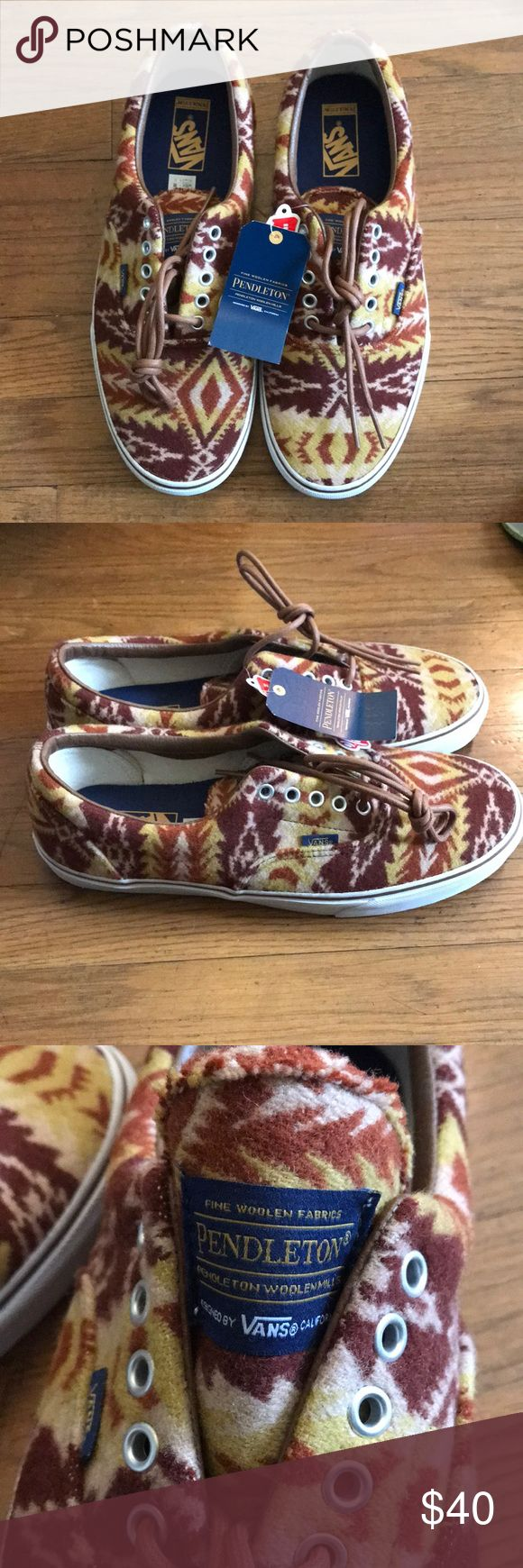 Pendleton Vans size 11.5 Pendleton edition Vans in size 11.5. Never worn or tried on. Vans Shoes Sneakers