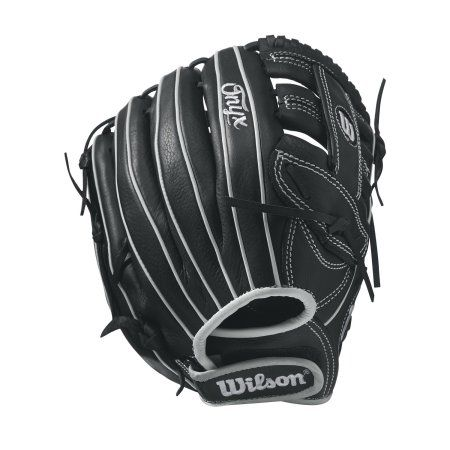 Wilson Sporting Goods Onyx Infield Fast Pitch Glove, 11.75 inch, Black