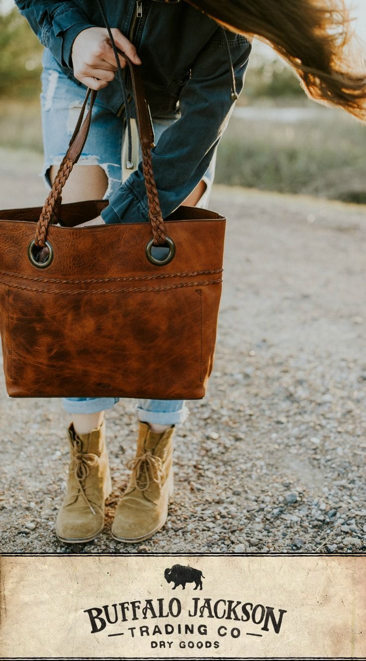 01a91e232e That's what you call this soft, tumbled leather tote bag. The vintage  finish on brown leather is the best mix of rugged and beautiful.