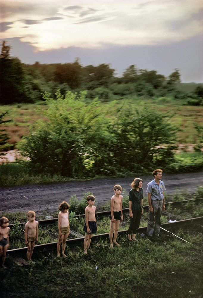 RFK: Funeral Train USA Tour , 1968  by Paul Fusco  Photograph