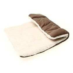 Small Pet Bed Pad Mat For Car Dog Puppy Cage Kennel S Soft Warm Nest Square House