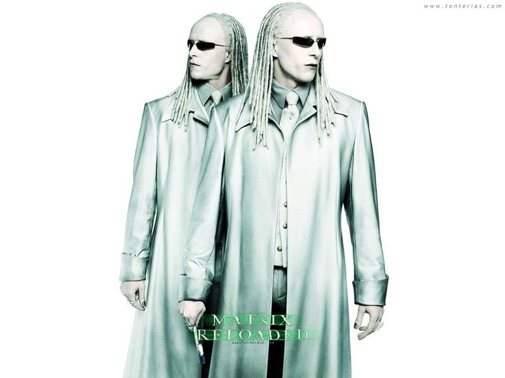 Matrix Twins - the only good thing about the second Matrix movie.