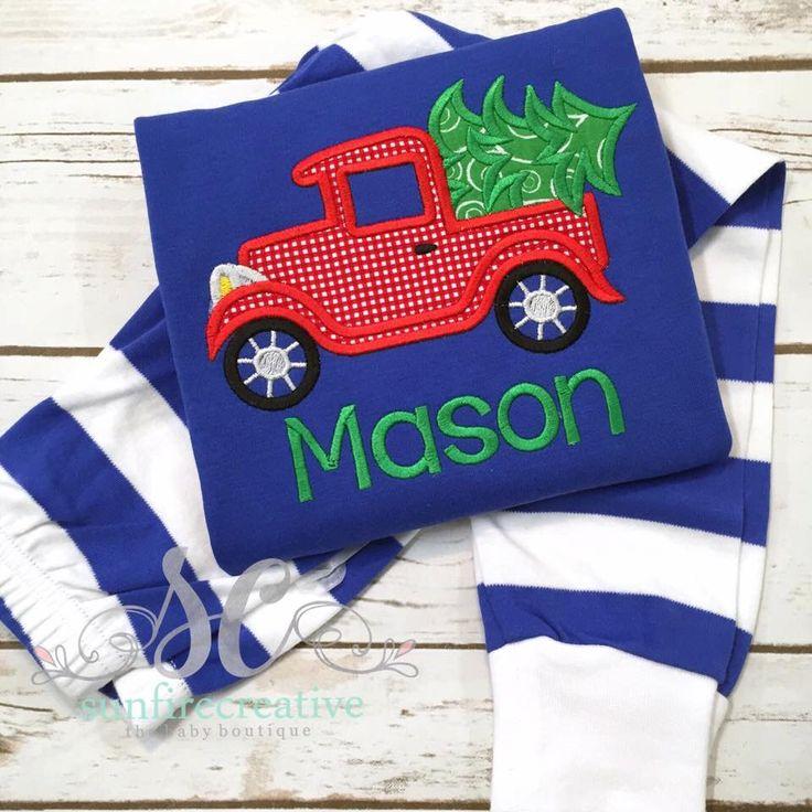 Kids Christmas Pajamas - Matching Christmas Pajamas - Christmas Pajamas for Boys - Pajamas for Kids - Monogrammed Pajamas by sunfirecreative on Etsy https://www.etsy.com/listing/255785304/kids-christmas-pajamas-matching