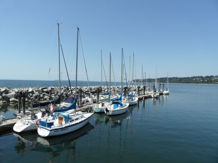 Boats at White Rock