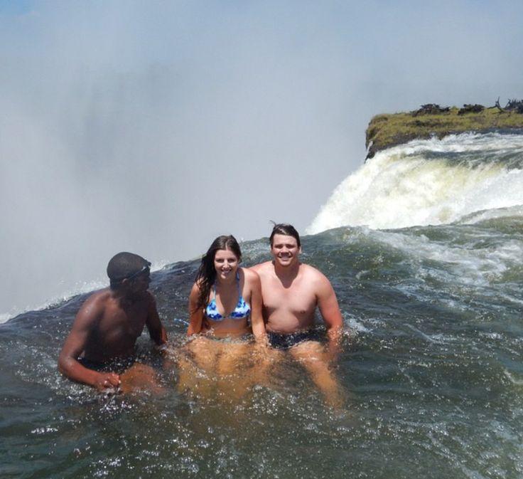 The Devils Pool, Victoria Falls, Zambia