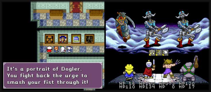 Das SNES JRPG Daikaijuu Monogatari / Super Shell Monster Story wurde vor kurzem ins Englische übersetzt! Soll mit zu den besseren Dragon Quest-Klonen gehören - http://www.jack-reviews.com/2015/05/daikaijuu-monogatari-englisch-patch.html