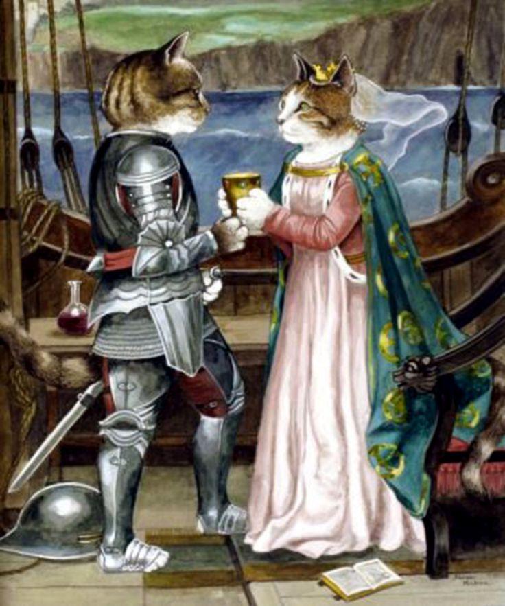 """""""Tristan and Isolde (Opera of Richard Wagner)"""" par Susan Herbert"""