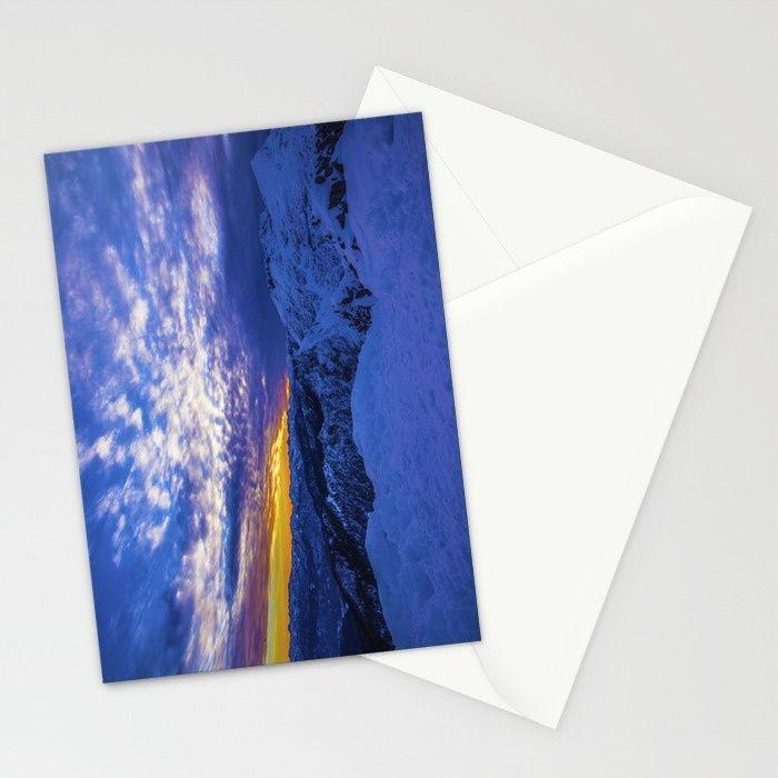 Warm Streak 2 Stationery Cards by Mixed Imagery | Society6