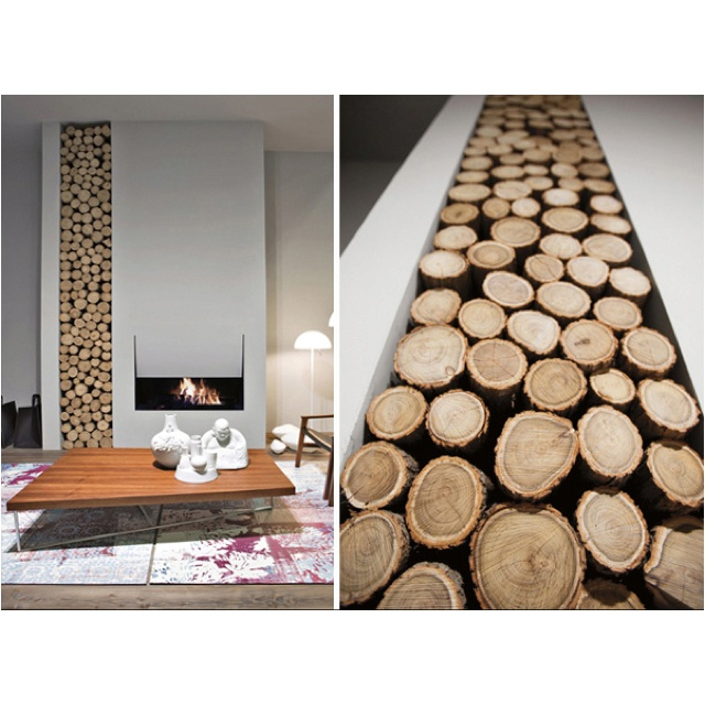 Contemporary Fireplace Interior Inspiration Pinterest Contemporary Log Store And Living Rooms