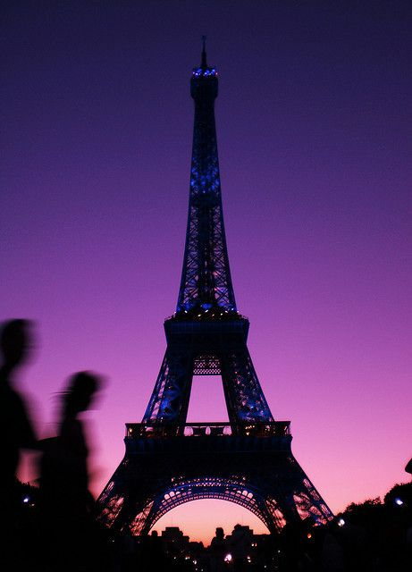 Purple Paris!.. perfect! I wanna go AGAIN!! ahhhhhhhhhhhhhhhh!!