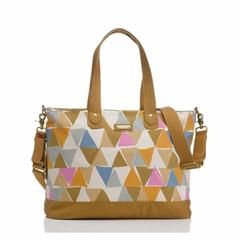 Storksak Changing Bag - Tote in Triangle