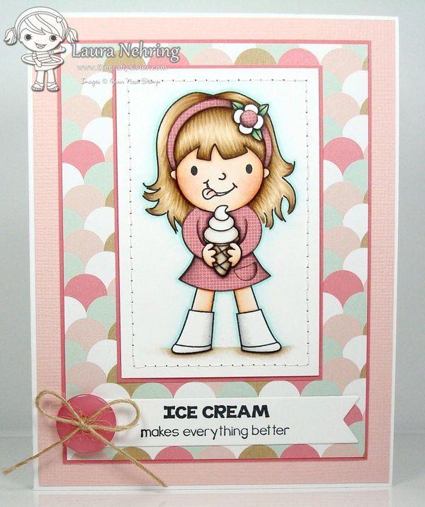 Ice Cream Ellie : Your Next Stamp