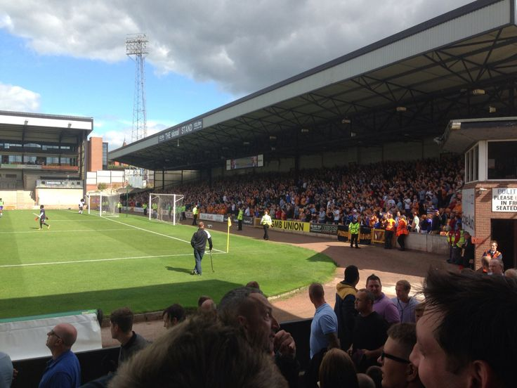 Wolves fans in the away end at Vale Park August 2013
