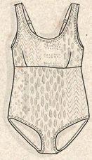"Maillot de bain ""Korall"" en polyamide/élasthanne–Mon jardin–GUDRUN SJÖDÉN – Kläder Online & Postorder"