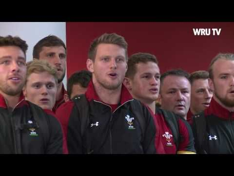 Welsh rugby team burst into song after being greeted by a haka from local schoolchildren at Dunedin Airport - Wales Online