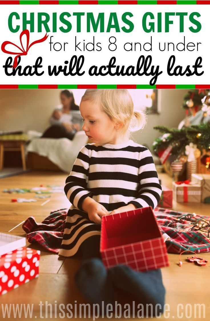 I love getting Christmas gift recommendations from a parent - these top 10 Christmas gifts for kids under 8 are recommended by a mom whose kids still use these presents months after they got them. Be sure to check them out if you have no idea what to get kids for Christmas and you want quality gift recommendations!