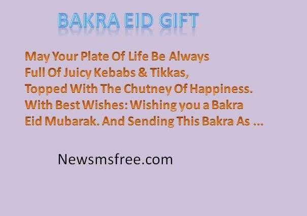 Eid-ul-Adha Goat funny sms