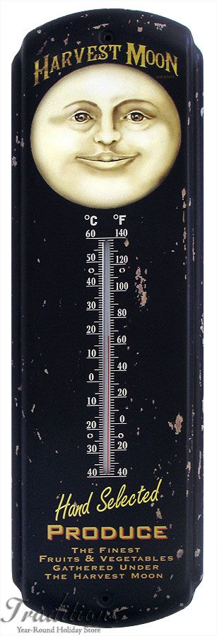 Harvest Moon thermometer...lovely vintage