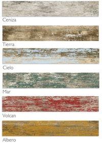 Carrelage imitation parquet vieilli mat style usine rouge for Parquet ou carrelage imitation parquet