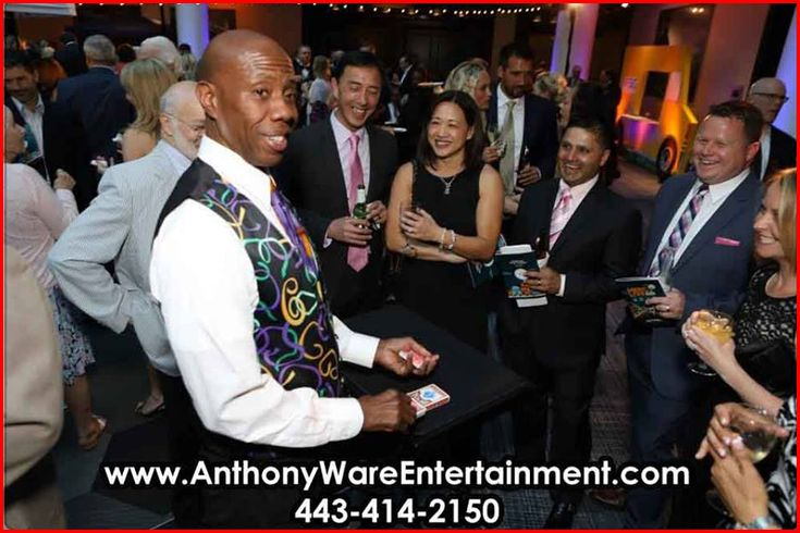 Make your special event wonderful and memorable! HIRE Magician Anthony Ware … CALL (443) 414-2150 for bookings and inquiries!