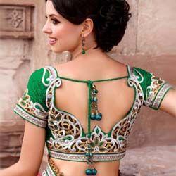 мода Индии сари чоли