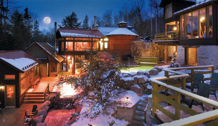 Mont-Tremblant Scandinave Spa (location in Whistler too! Just 2 hours north of Vancouver)