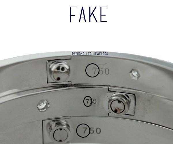replica hermes birkin handbag - How to Spot a Fake New Model Love Bangle   Cartier Love Bangle ...