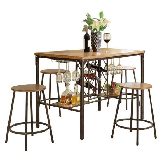 found it at wayfair baxton studio vintner 5 piece pub table set
