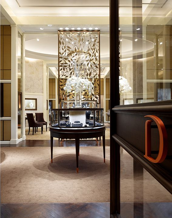 Modern Day Store Of Luxury Dhamani 1969 Jewellery In The Dubai Mall