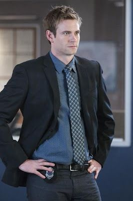 "Eric Johnson as ""Detective Luke Callaghan"" on Rookie Blue"
