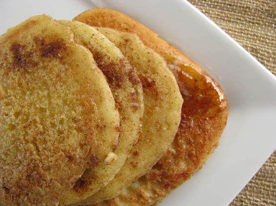 snickerdoodle pancakes!