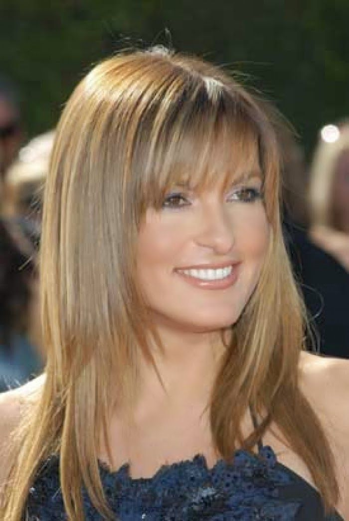 Long Layered Haircut Styles With Bangs