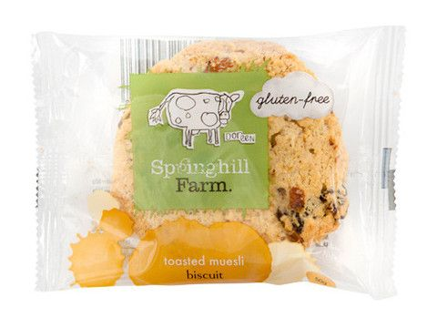 Springhill Farm - Gluten Free - Toasted Muesli Biscuits