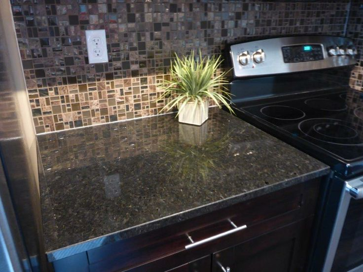 "$795 One color available Kitchen  Bath 3/4"" mid-grade Black Pearl"