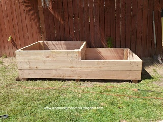 Two Tiered Raised Vegetable Bed