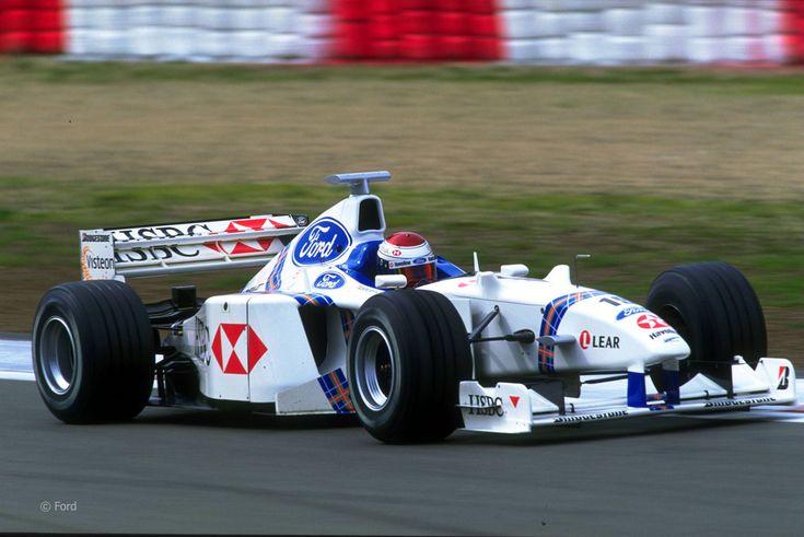 1998 Stewart SF2 - Ford (Jos Verstappen)