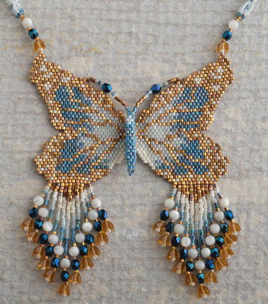Butterfly Patterns by Rita Sova at Sova-Enterprises.com lots of free beading patterns and tutorials are available!
