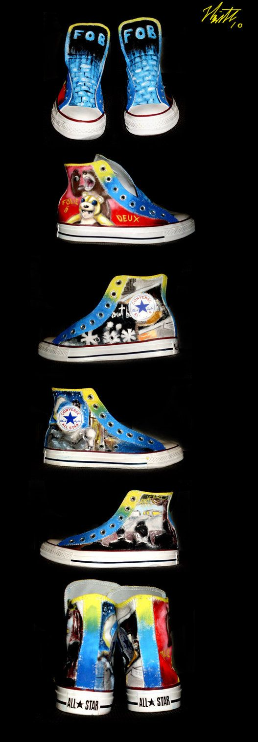The 'Infinity On High' side is especially nice. Painted FOB shoes. Beautiful... just Beautiful!