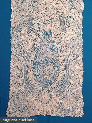LACE VEIL, c. 1870  http://www.augusta-auction.com/list-of-past-auctions-by-date?view=lot=6009_file_id=9