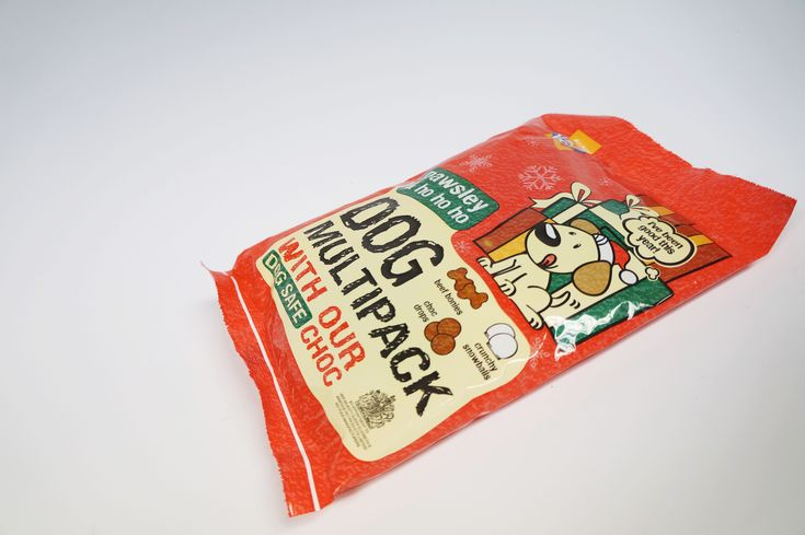 Here's a bold stocking filler full of treats, perfect for your dog on Christmas. #Surepak #Packaging #Christmas #Dog