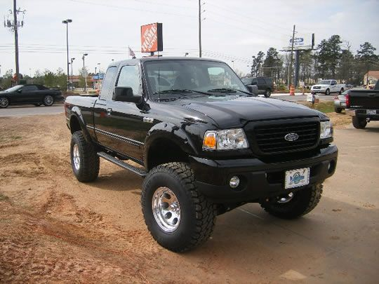 "2008 Ford Ranger 5"" Susp Lift, 3"" Body Lift 35"" Tires"