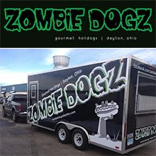 The Mad Concoctions at Zombie Dogz - The food truck craze struck the West coast like a sharkicane (coming soon to the SyFy network I am sure). One of the most popular in Dayton is Zombie Dogz. #DaytonFood