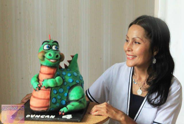 BABY DINO 3D CAKE - Cake by Super Fun Cakes & More - CakesDecor