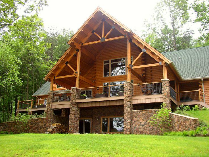 Log Homes Allegiance Log Homes Northeastern Log Homes
