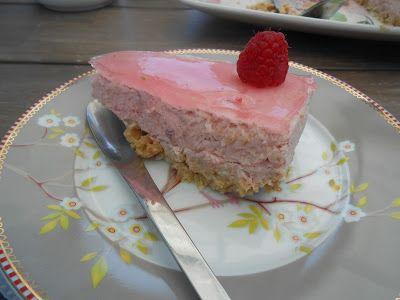 Tante Sød: Rabarbercheesecake