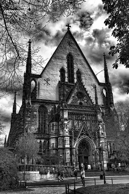 Thomaskirche Leipzig by uwebwerner, via Flickr