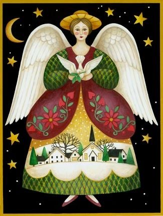 Folk Angel -- by Stephanie Stouffer, copyright 2015